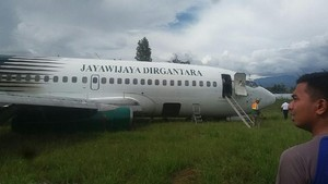 Pesawat Tergelincir di Bandara Wamena Berawal dari Mesin Lepas