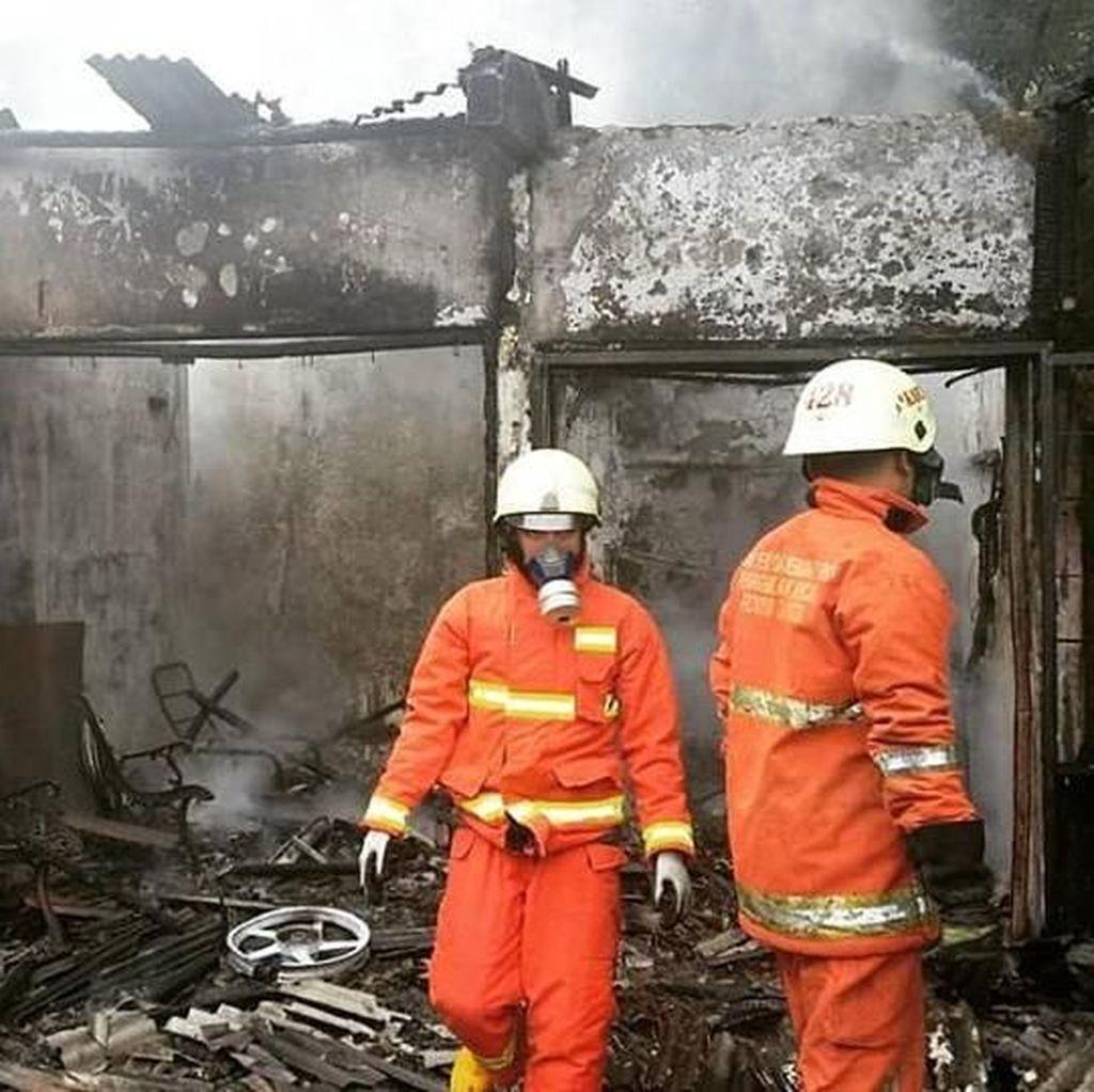 3 Kios di Jaksel Terbakar, Kerugian Capai Rp 150 Juta