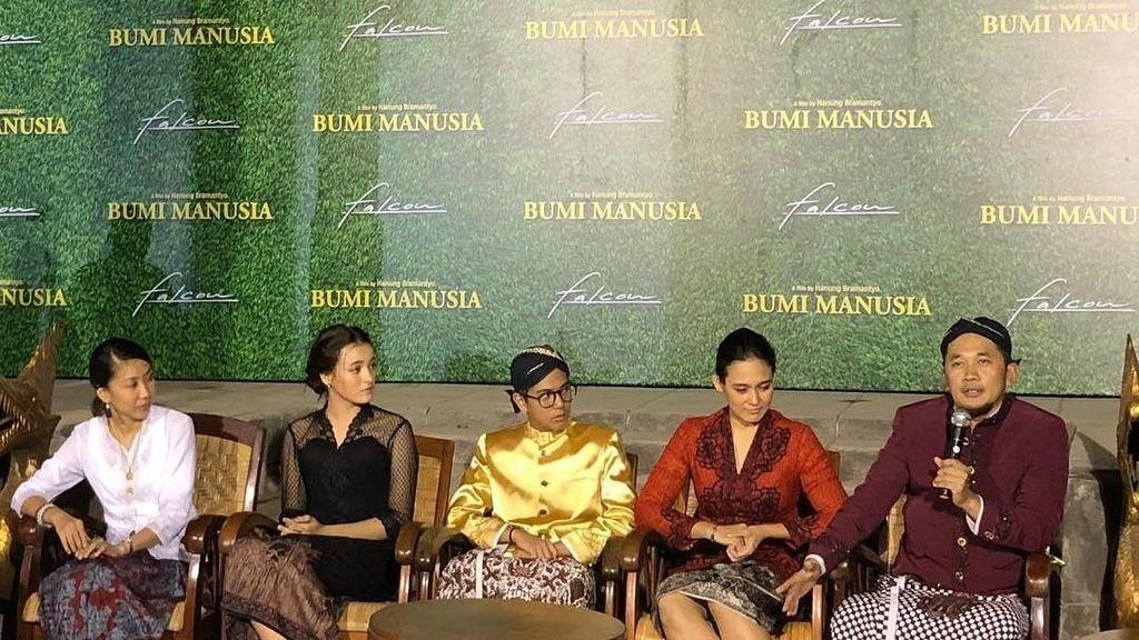Bumi Manusia Angkat Lika-liku Asmara di Masa Penjajahan