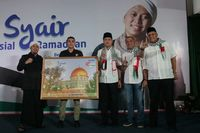 Tips Tetap Bugar Selama Ramadan dari Cawagub Ijeck