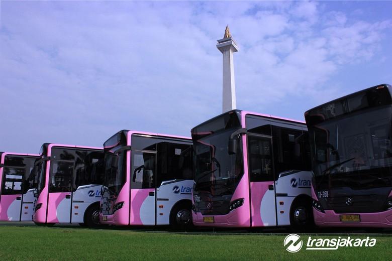 Bus Transjakarta khusus Wanita Foto: dok. Transjakarta