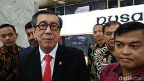Menkum HAM Minta KPU-Parpol Deklarasi Daftar Eks Koruptor Nyaleg