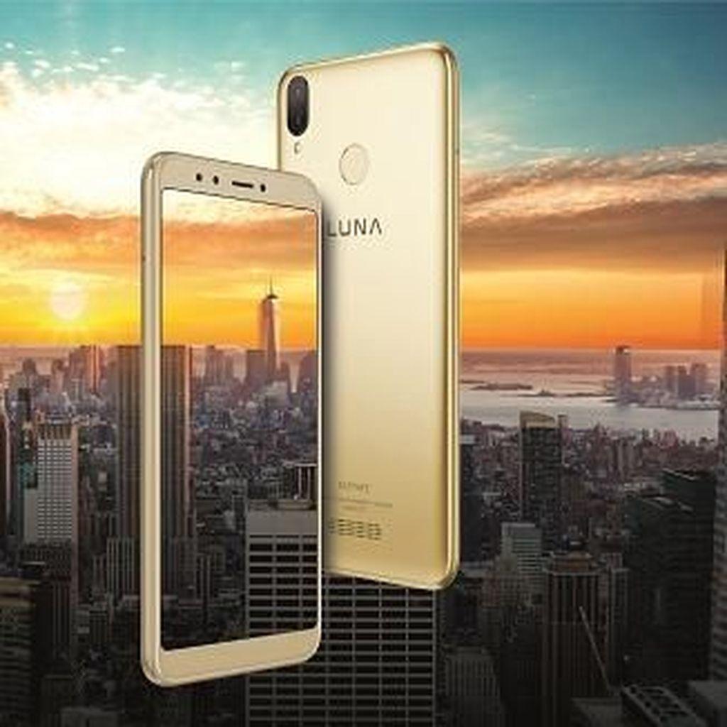 Smartphone Luna V Dual Diobral Rp 999 Ribu