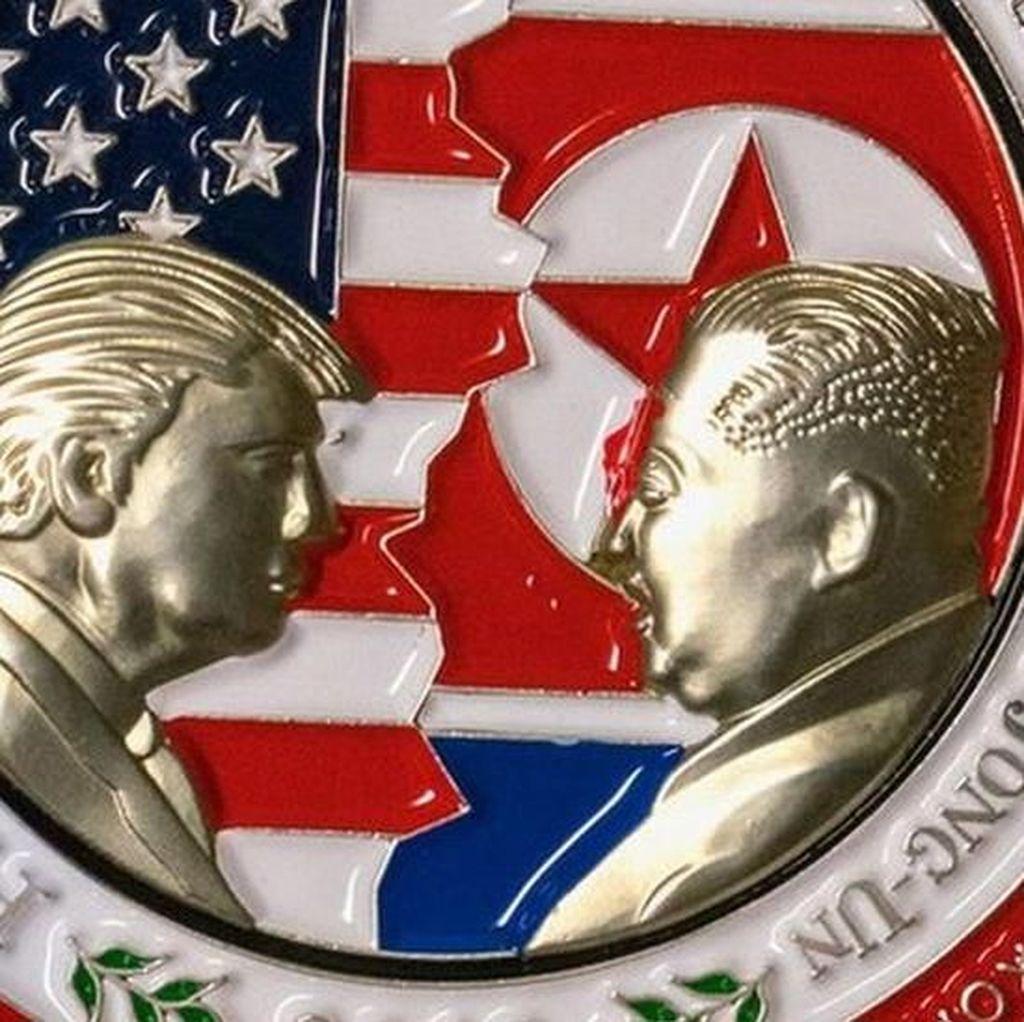 Heboh Perburuan Koin Cendera Mata Gara-gara KTT Trump-Kim Batal