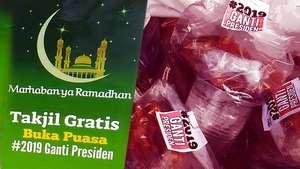 Takjil #2019GantiPresiden