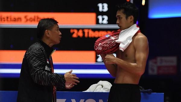 Indonesia Gagal di Piala Thomas, Buruknya Fisik Tunggal Putra Disorot