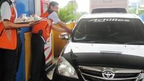 Ada Takjil Gratis di Tol Akses Tanjung Priok