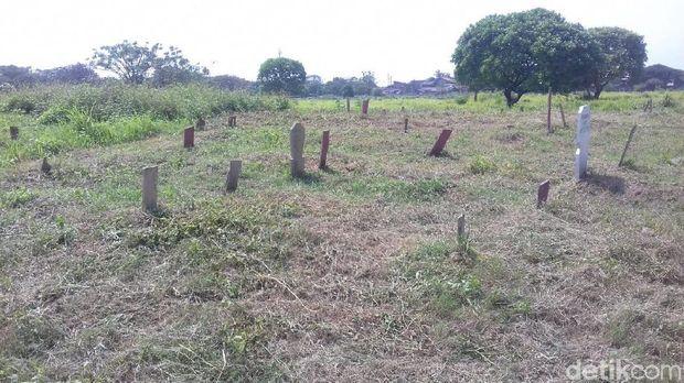 Makam tanpa nama di TPU Tegal Alur Jakbar.