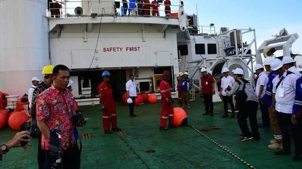 Palapa Ring Tengah Gelar Kabel Optik Laut di Manado