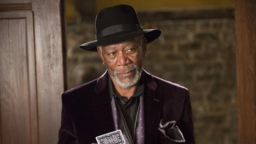 Diduga Lakukan Pelecehan Seksual, Ini Penampilan Morgan Freeman di Film