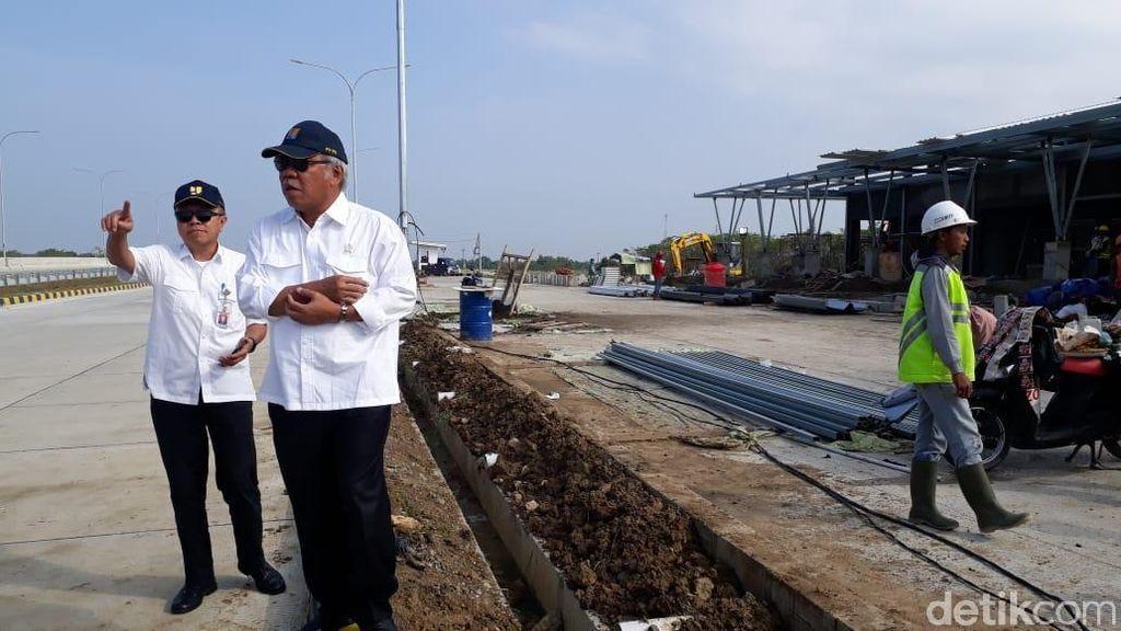 Akhir Pekan, Menteri PUPR Cek Tol untuk Jalur Mudik