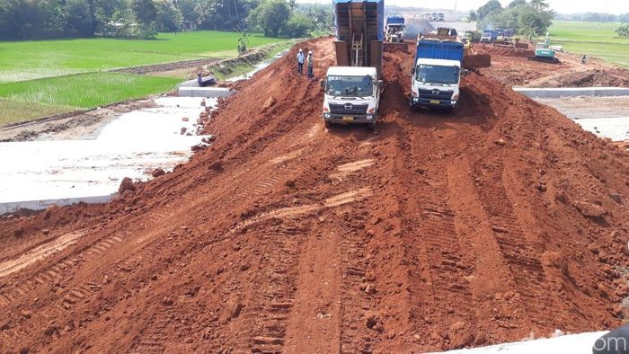 Tol Pemalang-Batang disiapkan fungsional/Foto: Fadhly Fauzi Rachman/detikFinance