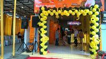Gibran, Kaesang dan Bobby Berkolaborasi dalam Kedai Rakyat di Medan