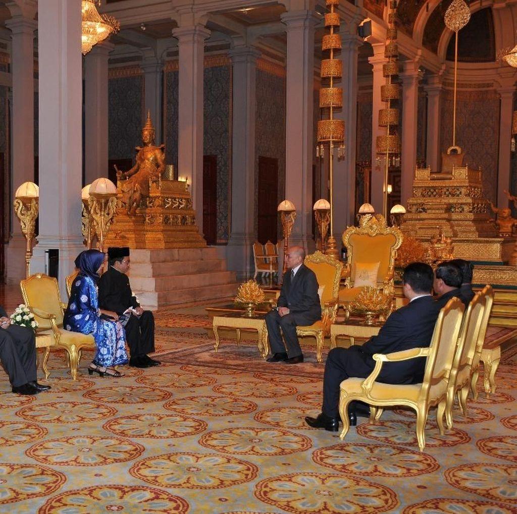 Raja Kamboja Yakin Kerja Sama RI-Kamboja Makin Inovatif