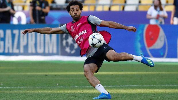 Mohamed Salah tidak akan dimainkan Juergen Klopp saat melawan Dortmund.