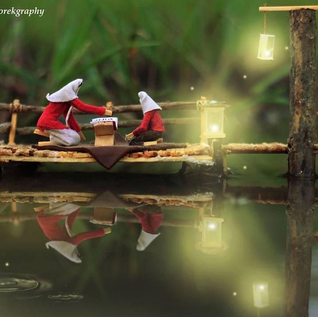 Kreatif! Fotografi Korek Api Penuh Cerita ala Pemuda Serang