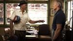 Morgan Freeman dan Robert De Niro di Premiere Last Vegas