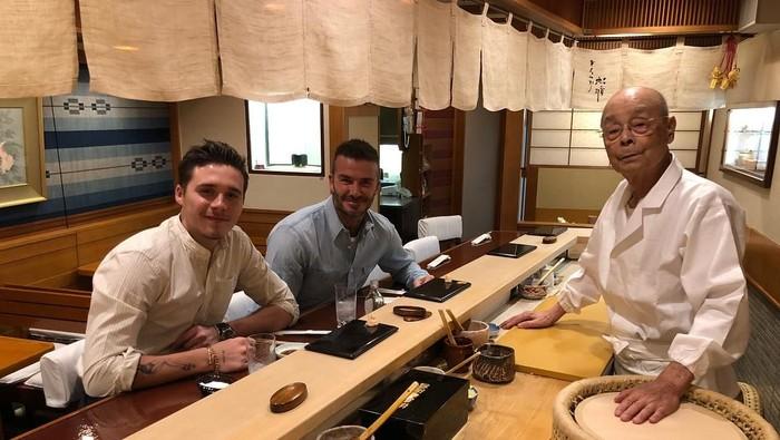 David Beckham di Jepang