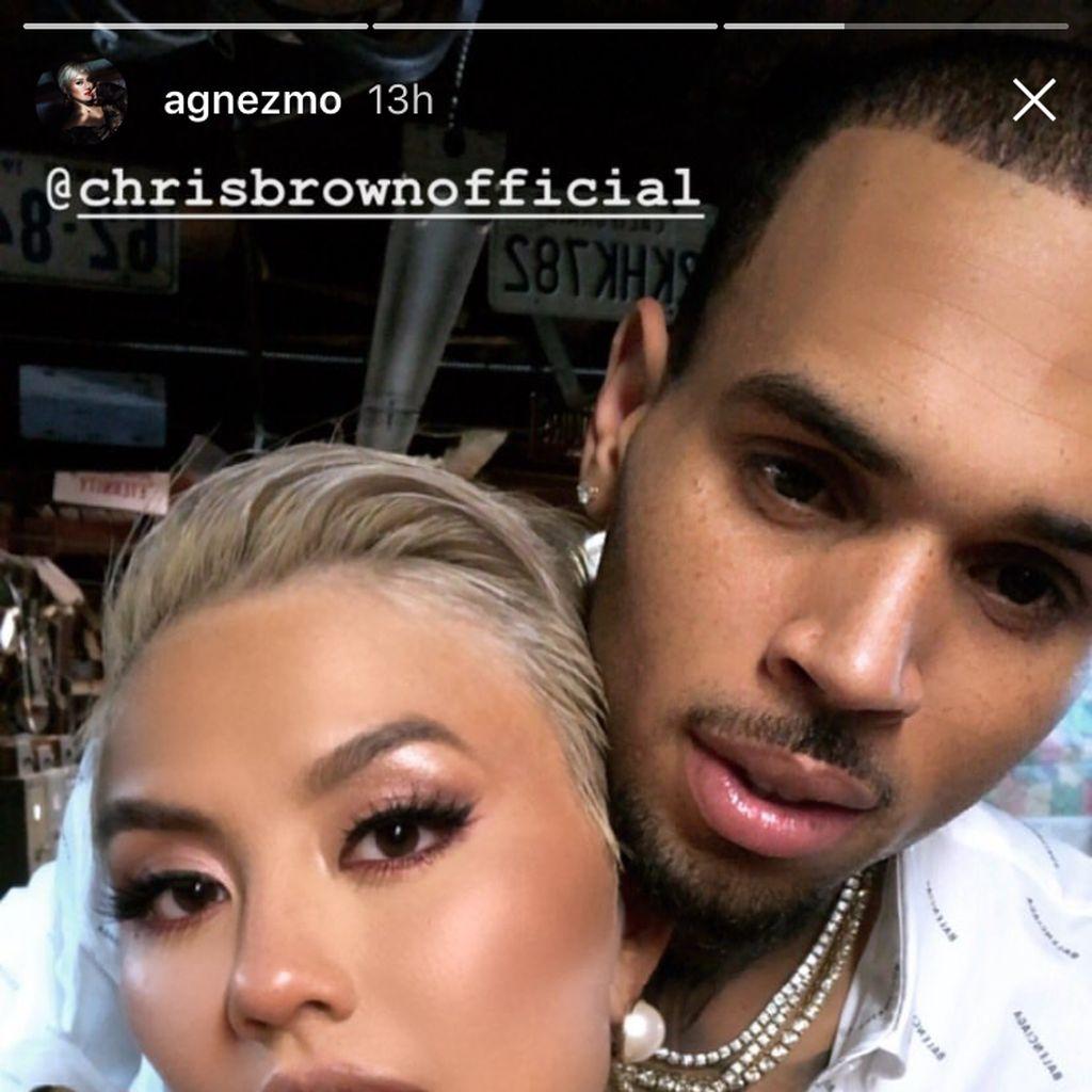 Seperti Ini Sosok Chris Brown di Mata Agnez Mo