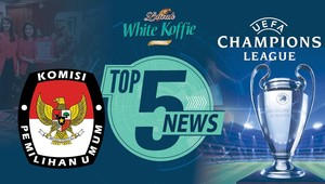 Menanti Pemenang Liga Champions, KPU Larang Eks Koruptor Nyaleg