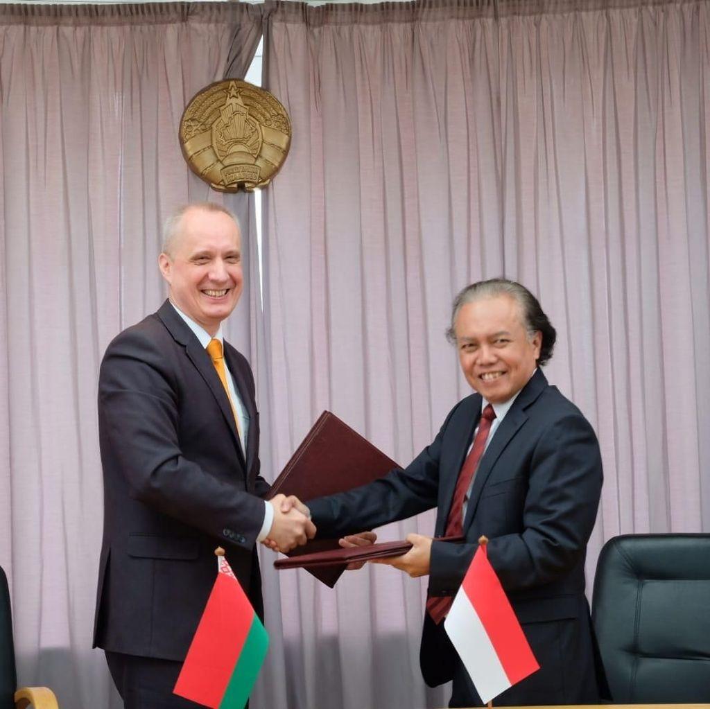 25 Tahun Hubungan Diplomatik, RI-Belarus Tingkatkan Kerja Sama