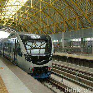 Kereta LRT Palembang Bisa Melaju Maksimal 80 Km/Jam