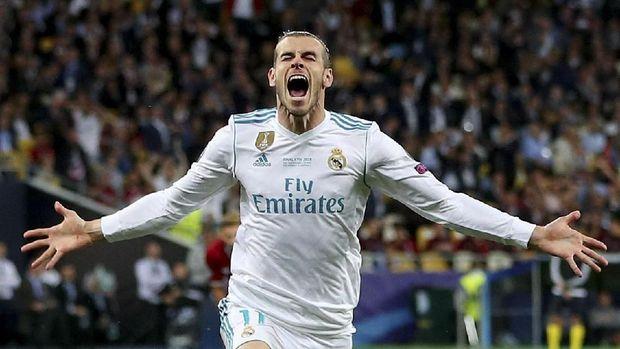 Gareth Bale kerap jadi penentu kemenangan Real Madrid di final Liga Champions.