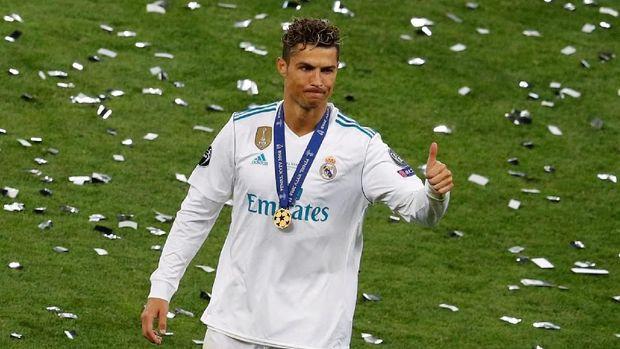 Untuk kali pertama Ronaldo kehilangan gol di partai puncak Liga Champions bersama Madrid.