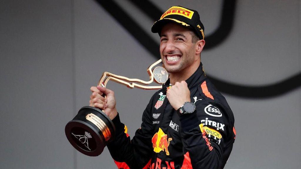 Kalahkan Vettel, Ricciardo Menang di Monako
