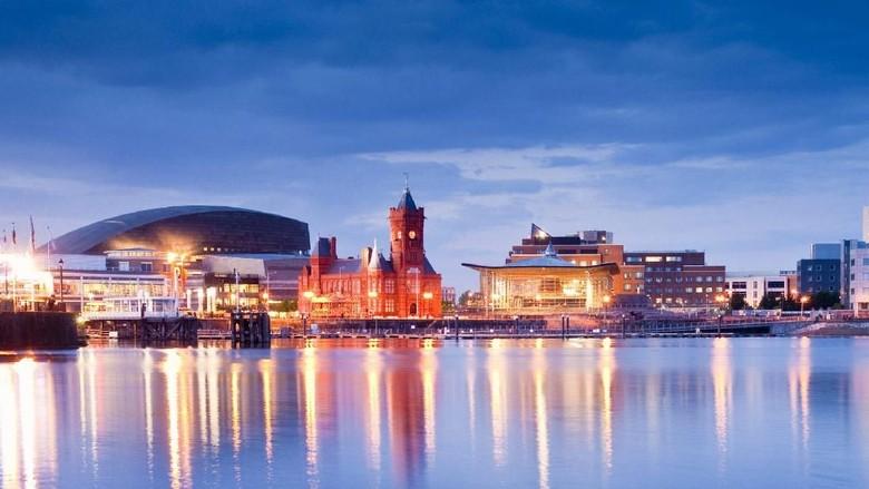 Pemandangan Kota Cardiff yang cantik (Visit Cardiff)