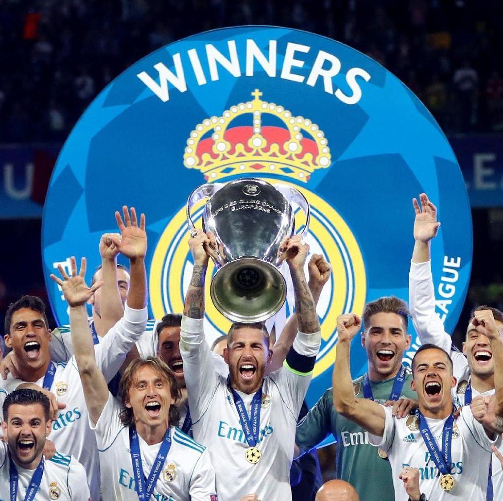 Florentino Perez Sebut Real Madrid Ada di Puncak Dunia Sepakbola