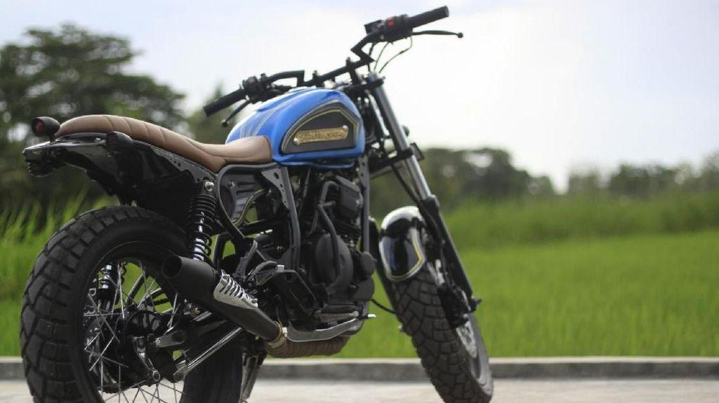 Yamaha Scorpio Cantik Milik Pak Guru