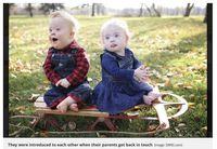 So Sweet! Cerita Persahabatan 2 Balita dengan Down Syndrome