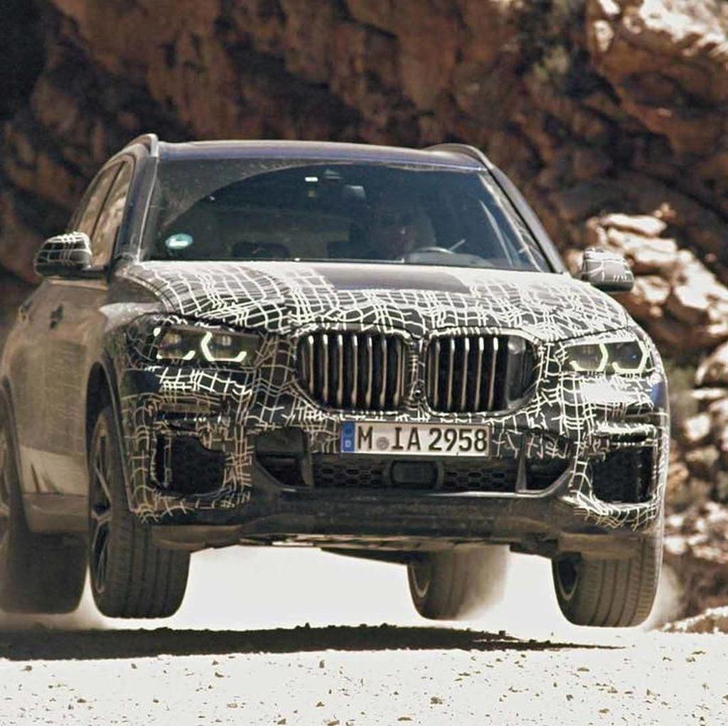 BMW X5 Terbaru Mulai Diuji di Seluruh Dunia