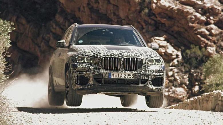 BMW X5 Terbaru Mulai Diuji di Seluruh Dunia Foto: Pool (Motor1)