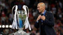 Prestasi Zidane Akan Sulit Disamai Pelatih Baru Madrid
