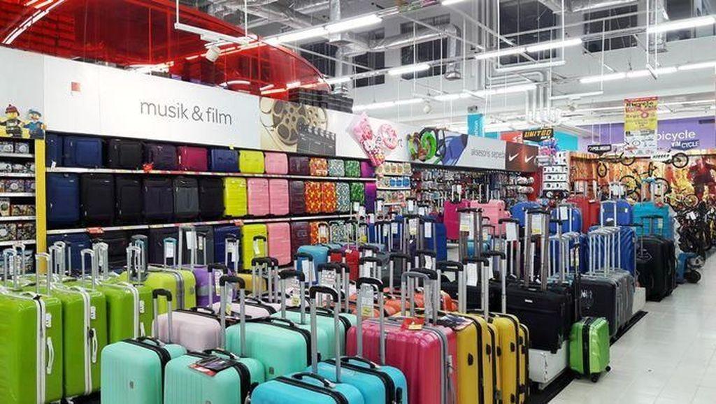 Jelang Mudik, Koper Didiskon hingga 70% di Transmart Carrefour