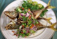 Masak Apa Hari Ini : Sayur Asem dan Nasi Gurih Ikan Asin yang Mantap