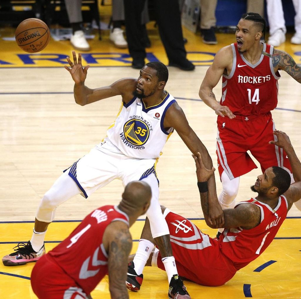 Warriors Atasi Rockets, Final Wilayah Barat Lanjut ke Gim Ketujuh