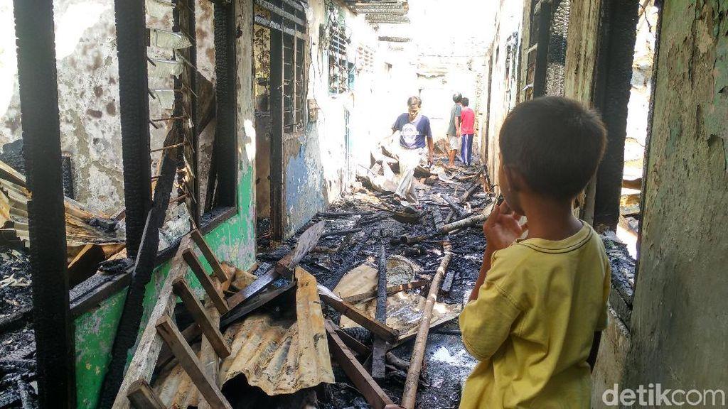 1 Anak Luka Bakar Akibat Kebakaran di Bidara Cina, Balita Trauma
