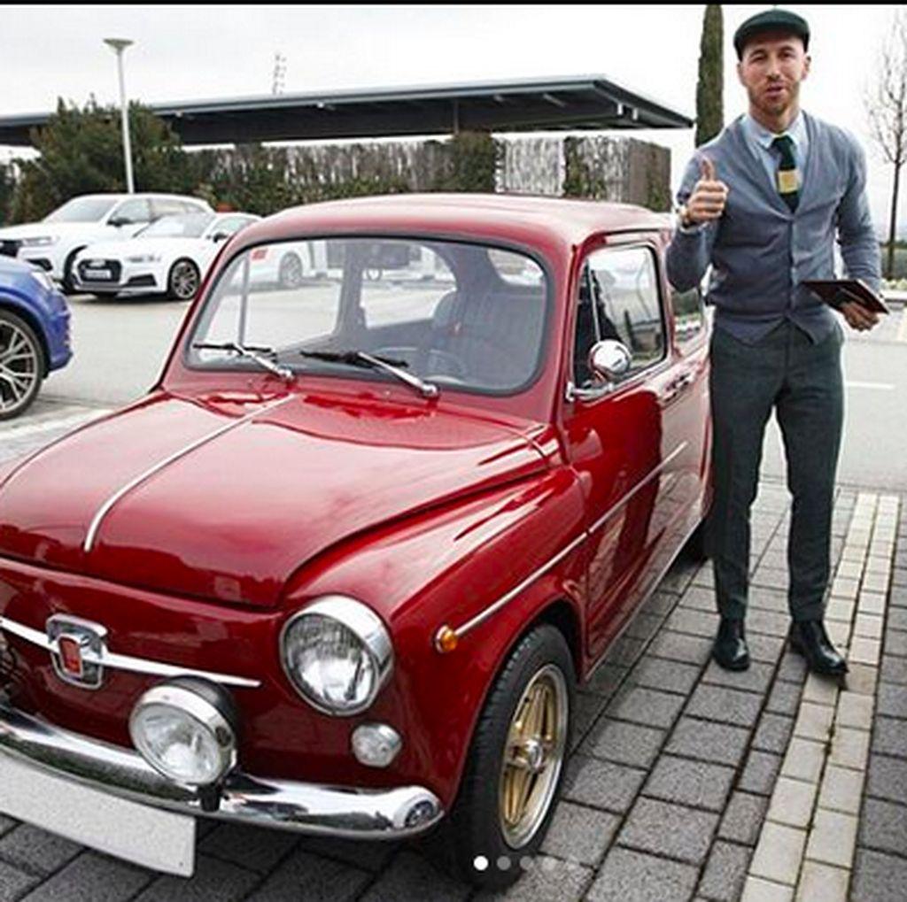 Buat Salah Cedera, Ini Hobi Mobil Sergio Ramos