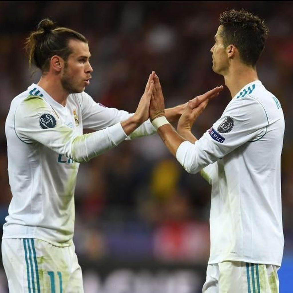 Tanda Tanya Masa Depan Ronaldo dan Bale Usai Madrid Jadi Juara