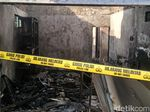 Kebakaran Bidara Cina dari Api Kompor yang Sambar Tabung Gas