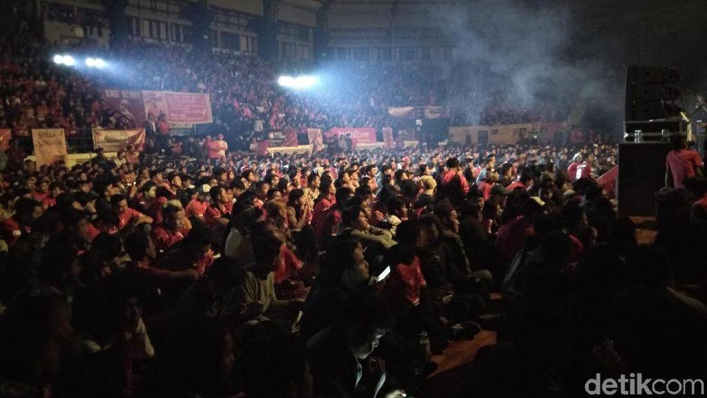 Meriahnya Nobar Liga Champions BIGREDS Kota Bandung