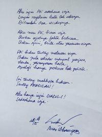 Anas Tepis Spekulasi PK Demi Jadi Capres: Aku Hanya Ingin Diadili