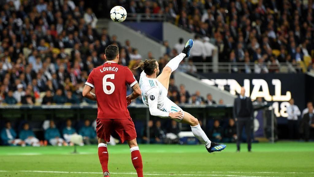 Bale Soal Gol Saltonya yang Kalah Keren dari Gol Salto Ronaldo