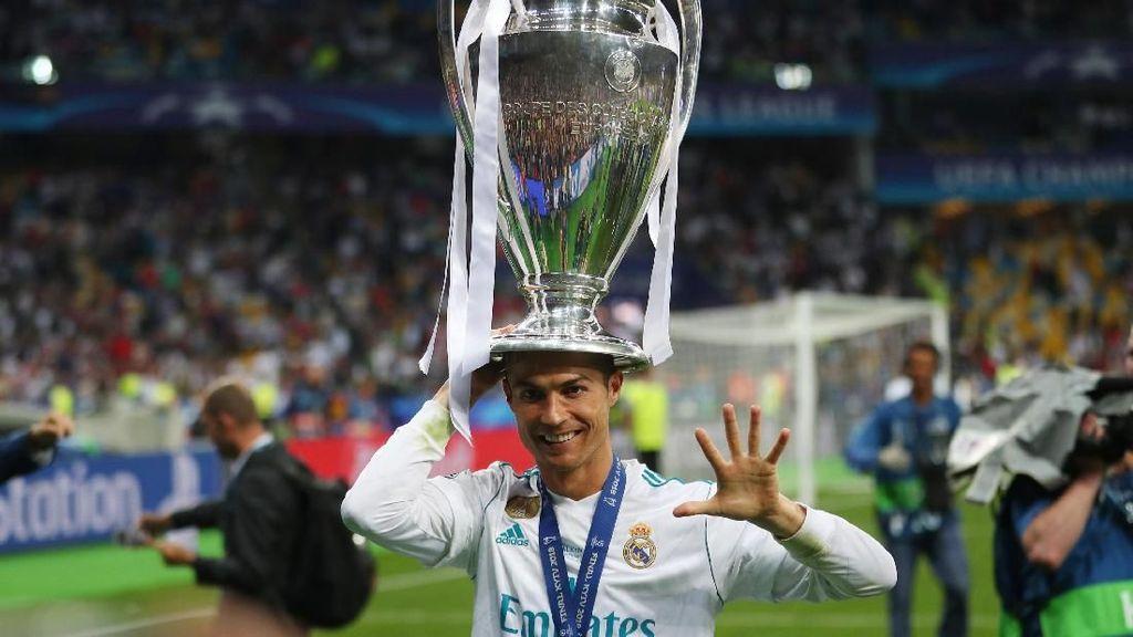 Cristiano Ronaldo Raja Liga Champions