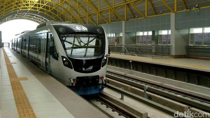 Uji dinamis dilakukan mulai dari Stasiun Jakabaring hingga ke Stasiun Ogan Permata Indah (OPI).