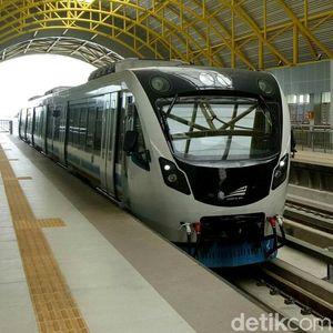 Wuus, LRT Palembang Melaju Mulus di Rel