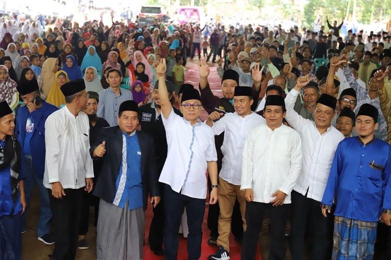 Ulama 212 Ciamis Doakan Zulkifli Hasan Jadi Pemimpin Indonesia